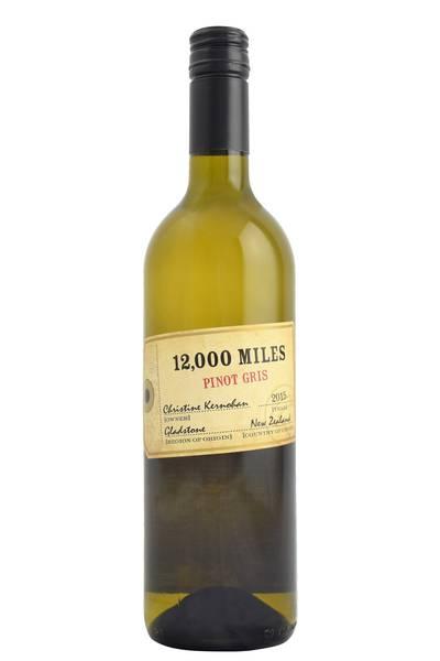 12 Thousand Miles Pinot Gris 2014