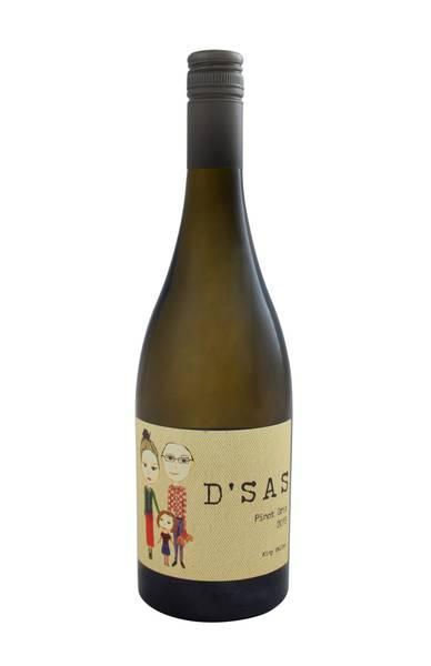 D'Sas Pinot Gris 2015