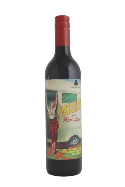 2014 Some Young Punks 'Passion Has Red Lips' Shiraz Blend