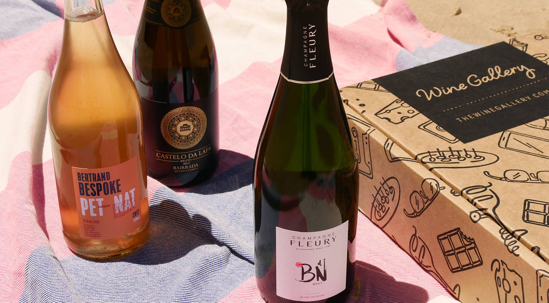 Summer 2019 Champagne & Sparkling Celebration Pack
